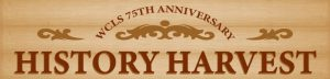 WCLS 75th Anniversary History Harvest Banner