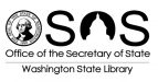 Office of the Secretary of State, Washington State Library logo