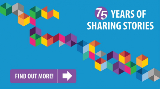 75 years of sharing stories. Find out more.