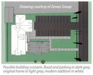 Birch Bay Library Sketch - courtesy of Zervas Group.
