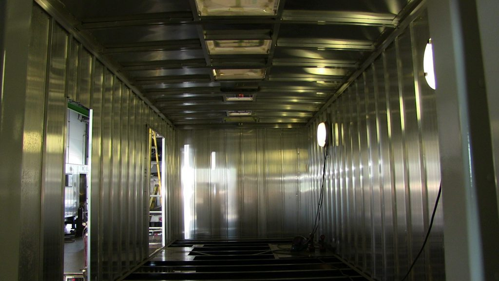 Inside of the Bookmobile