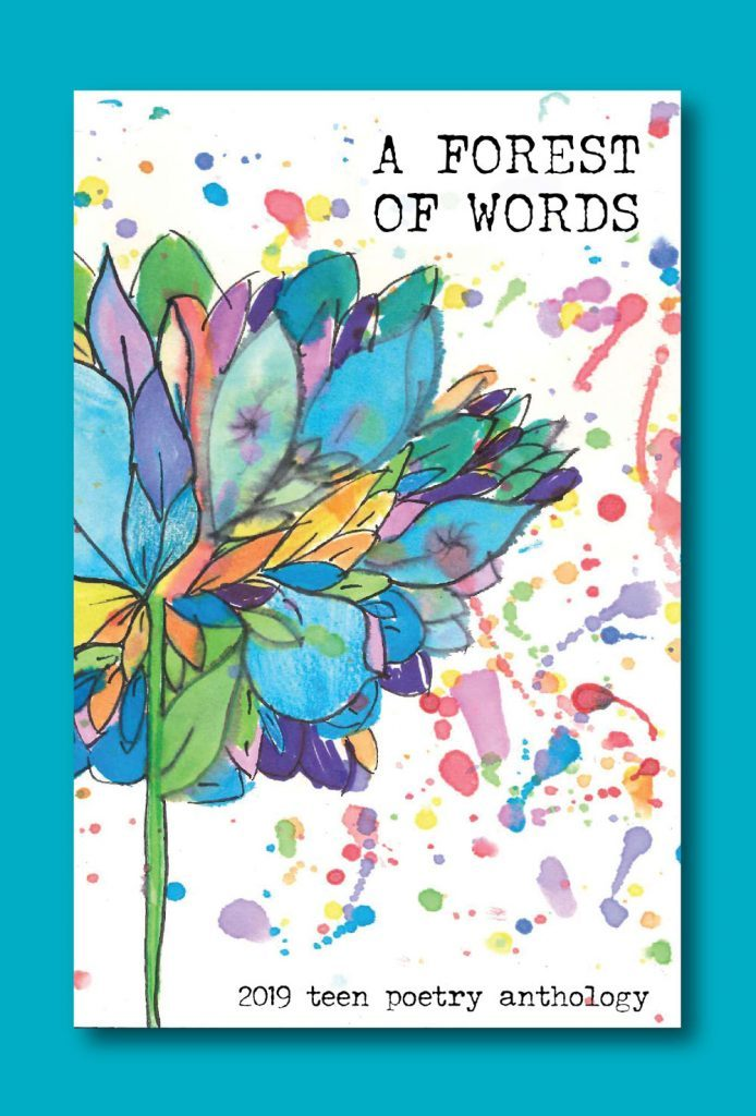 A Forest of Words, 2019 teen poetry anthology book cover