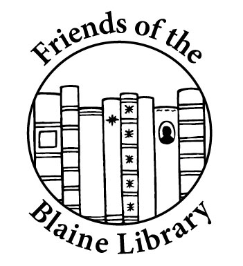 Friends of the Blaine Library logo