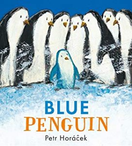 Blue Penguin by Petr Horacek