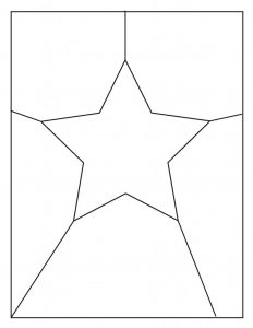 Comic Star and Shapes