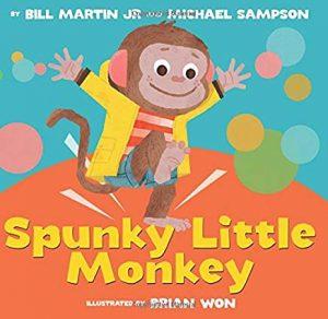 Spunky Little Monkey by Brian Won