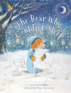 The Bear Who Couldn't Sleep by Caroline Nastro Illustrated by Vanya Nastanlieva