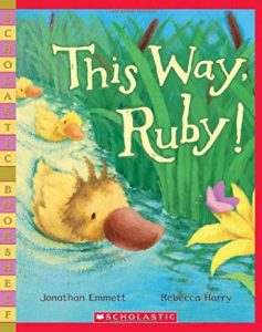 This Way, Ruby! by Jonathan Emmett and Rebecca Harry