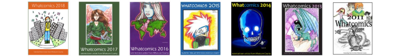 Image of previous years whatcomics publications