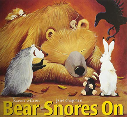 bear snores on by karma wilson illustrated by jane chapman