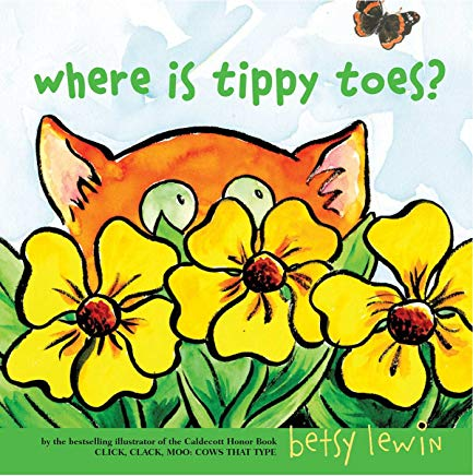 where is tippy toes? by betsy lewin