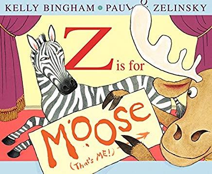 z is for moose by kelly bingham illustrated by paul o. zelinsky