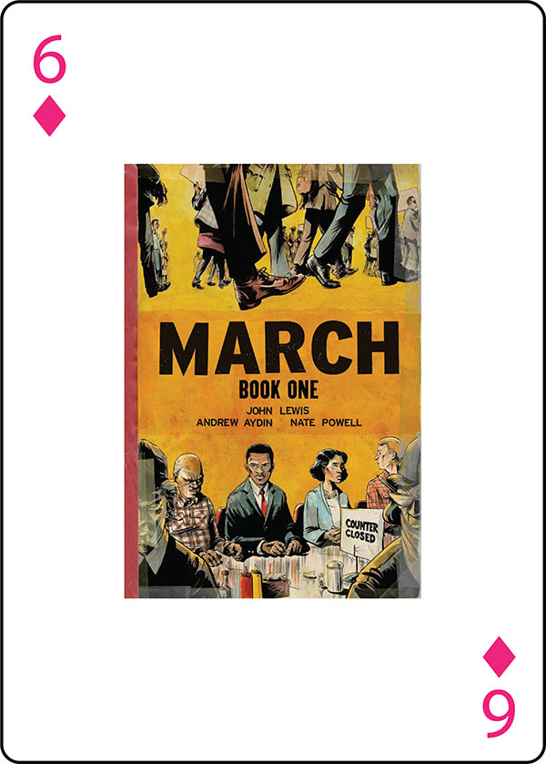March: Book One by John Lewis, Andrew Aydin and Nate Powell