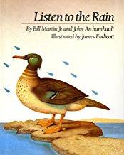 Listen to the Rain by Bill Martin Junior