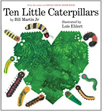 Ten Little Caterpillars by Bill Martin Junior