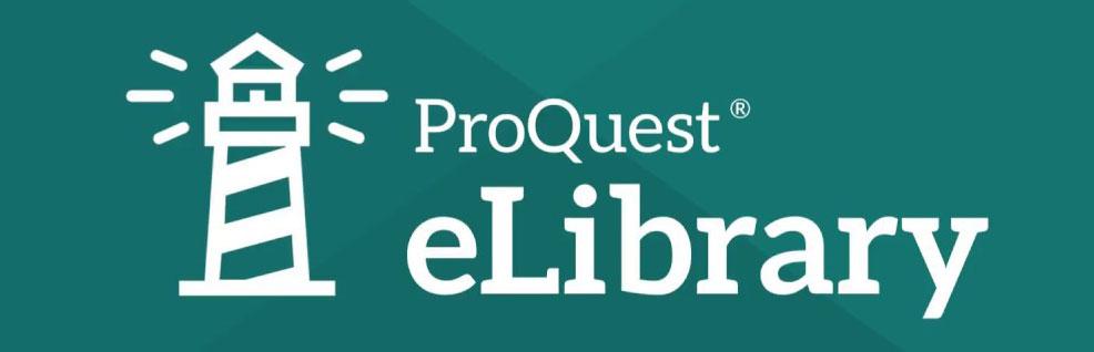ProQuest e-library Logo