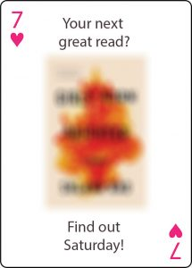 Your next great read? Find out Saturday!