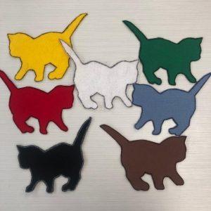 Color Cats Felt Story