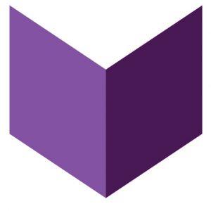 Stylized image of purple book