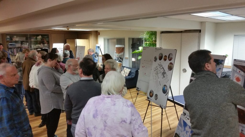 Blaine residents looking at design plans for Blaine library
