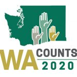 Washington Counts 2020 Census logo
