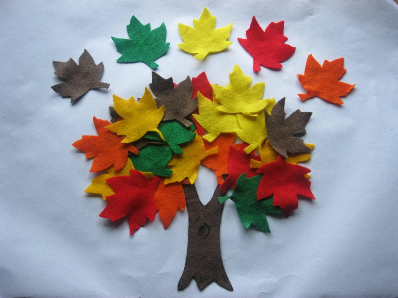 autumn leaves felt story