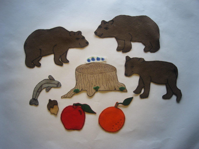 Bear's Feast Felt Story