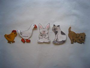 Five Little Pets Felt Story