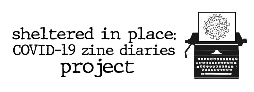 Sheltered in Place: COVID-19 diaries project logo