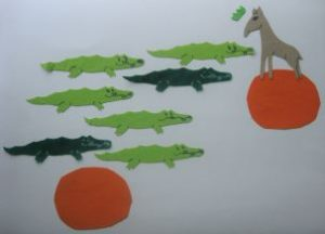 Counting Crocodiles Felt Story