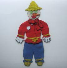 Let's Build a Scarecrow Felt Story