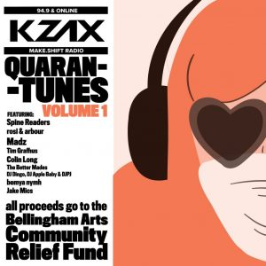 KZAZ 94.9 online Quarentunes Volume 1 album cover