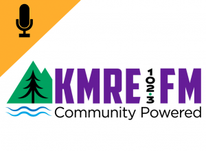 KMRE 102.3 FM logo