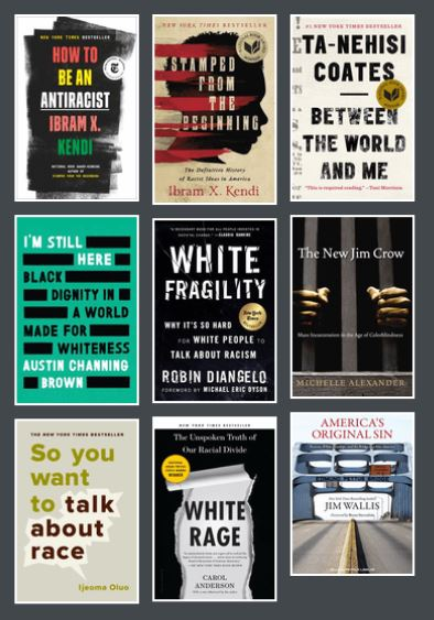 Image of 9 book covers