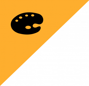 palette icon on yellow snipe