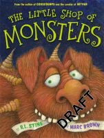 Little Shop of Monsters by R.L. Stine