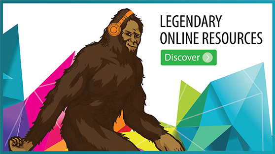 Legendary online resources. Click here to discover them.