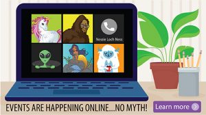 Events are happening online. No myth. Click here to learn more.