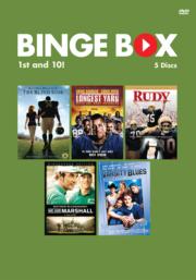 Binge Box Cover: 1st and ten