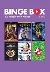 Binge Box Cover: 80s Imagination movies