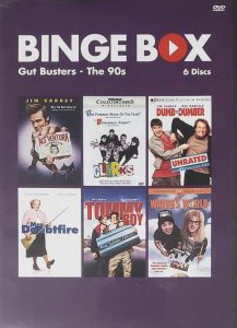 Binge-Box-Cover gut busters, the 90s