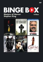Binge-Box-Cover Masters of Horror, Stephen King