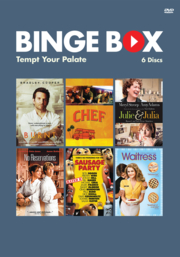 Binge Box Cover: Tempt your palate