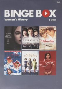 Binge Box Cover: women's history