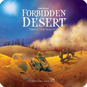 Board Game Cover: Forbidden Desert