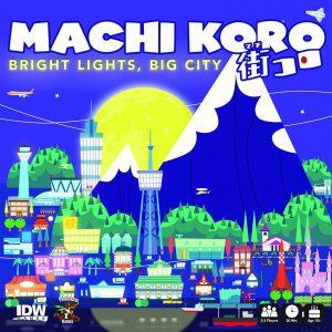Board Game Cover: Machi Koro