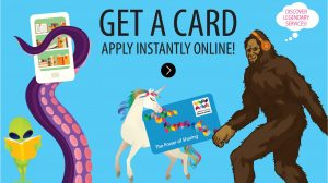 Get a card. Apply instantly online.