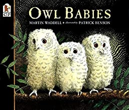 Owl Babies by Martin Waddell illustrated by Patrick Benson