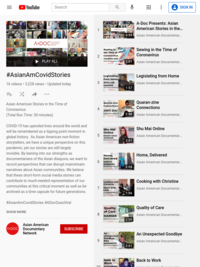 #AsianAmCovidStories - YouTube