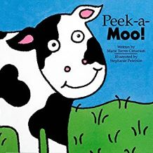Peek-a-Moo by Marie Torres Cimarusti illustrated by Stephanie Peterson